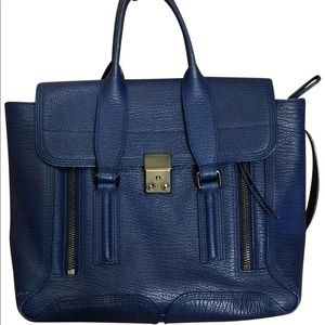 3.1 Phillip Lim Pashli Medium cobalt bag